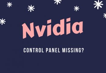 """Nvidia control panel missing"" Fix in Windows 7,8,10"