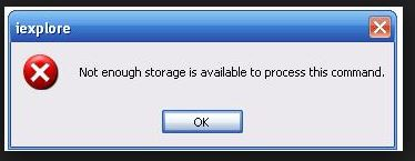not-enough-storage-available-to-process-this-command