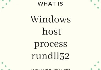 Windows-host-process-rundll32