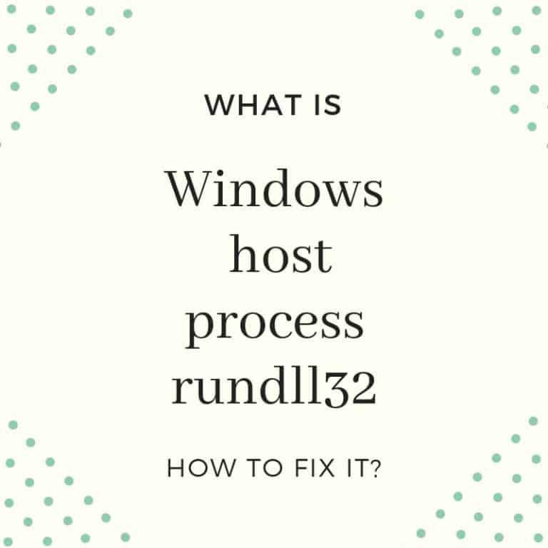 Windows-host-process-rundll32