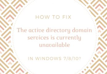 The-active-directory-domain-services-is-currently-unavailable