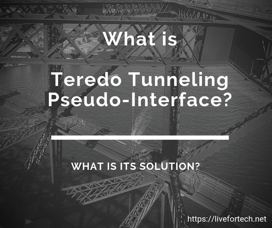 Teredo-Tunneling-Pseudo-Interface